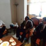 with Mr. Appuni Ramesh Ambassador of India to Peru & Bolivia